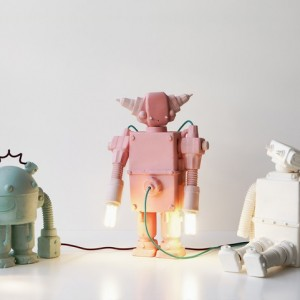 """""""Matias Liimatainen is an artist that creates unique ceramic robots inspired by industrial forms."""""""