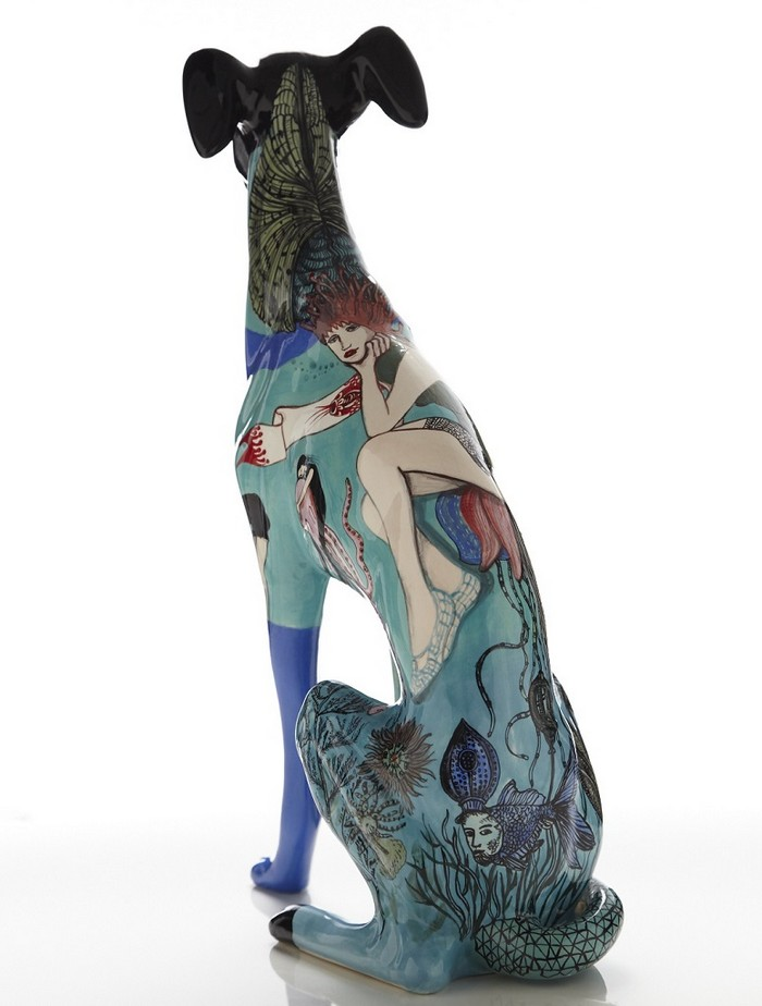 """""""Evelyn Tannus is a Brazilian artist that paints beautiful surface designs on elegant ceramic.""""  """"Tattooed"""" Ceramics by Evelyn Tannus Tattooed Ceramics by Evelyn Tannus Artists I Lobo you12"""