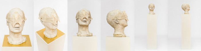 """""""Yvonne Roeb is an artist born in 1976 in Frankfurt that lives and works in Berlin. A lot of space for reflection remains between the sculptures and between the lines.""""  Yvonne Roeb contemporary sculptures Yvonne Roeb contemporary sculptures artists i lobo you11"""