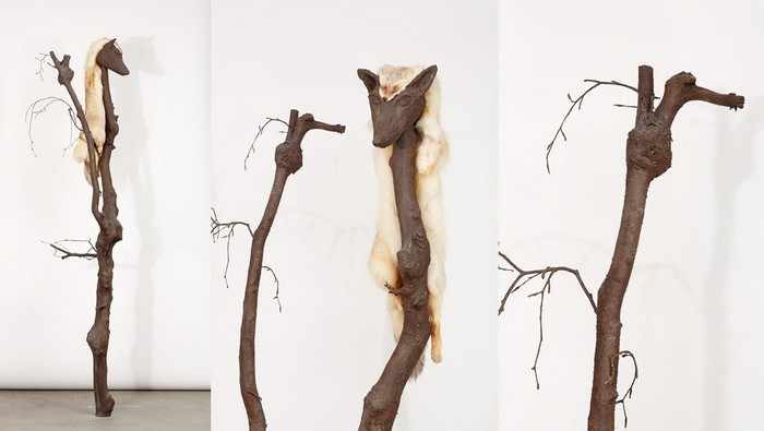 """""""Yvonne Roeb is an artist born in 1976 in Frankfurt that lives and works in Berlin. A lot of space for reflection remains between the sculptures and between the lines.""""  Yvonne Roeb contemporary sculptures Yvonne Roeb contemporary sculptures artists i lobo you14"""