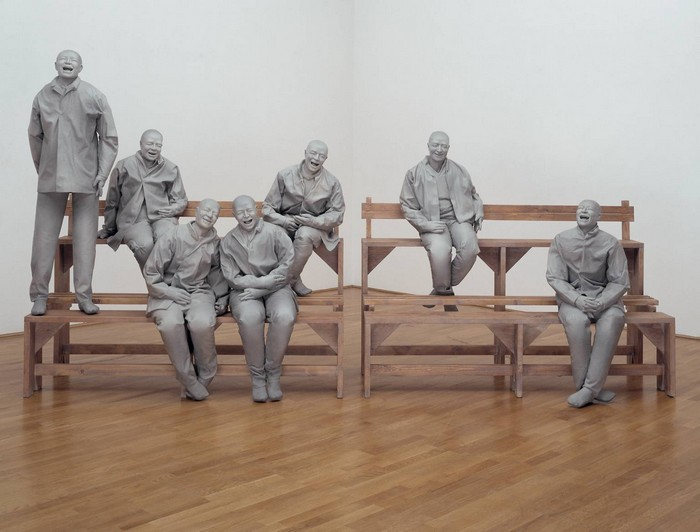 """""""Juan Muñoz was a Spanish artist recognized by his men sculptures. Nowadays he is celebrated for his innovative combination of sculpture and installation art"""""""
