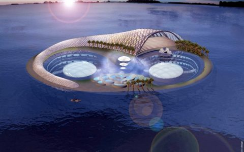 """The Hydropolis Underwater Hotel and Resort is a proposed underwater hotel in Dubai. Hydropolis should be the first multi-room underwater hotel in the world."" Underwater Hotel Hydropolis- Underwater Hotel in Dubai Hydropolis Underwater Hotel in Dubai limited edition I Lobo you9 480x300"