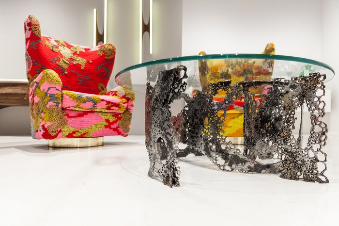"""""""K. Gretchen Greene is an artist specialized in metal, metal sculptures and furniture that also looks like an art piece.""""  Metal furniture and sculptures by K. Gretchen Greene Metal furniture and sculptures by K"""