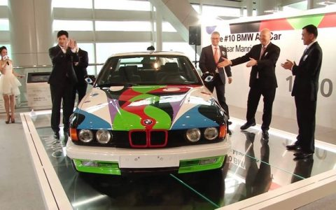 """This year 2015 BMW celebrates 40 years of BMW Art Cars and Partners With Art Basel Miami Beach."""