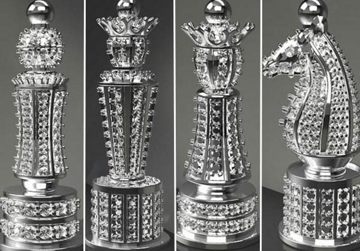 Most Expensive Diamond Chess Set
