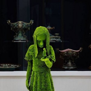 The Moss people by Kim Simonsson was recently exhibited at Design Miami 2015 at Jason Jacques Inc.