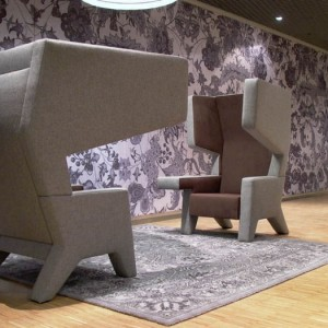 Studio Makkink & Bey is led by architect Rianne Makkink and designer Jurgen Bey. The studio works in various domains like artistic furniture.