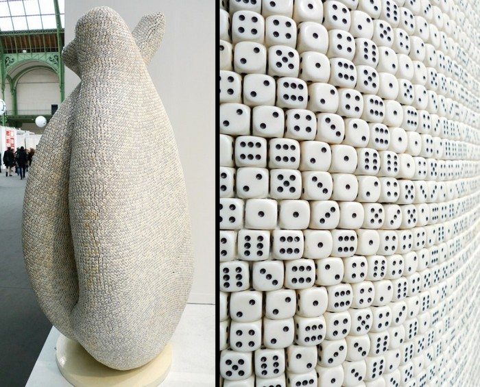 Tony Cragg is a  British artist focused on contemporary sculptures. His works that most impressed us was the dice sculptures. Tony Cragg Dice Sculptures by Tony Cragg Dice Sculptures by Tony Cragg artists I Lobo you7