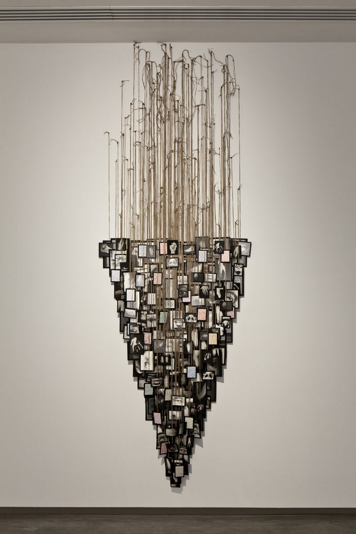 Annette Messager was born in France. Messager is known mainly for her contemporary installations which often incorporates photographaphs, prints and drawing Contemporary art Contemporary art installations by Annette Messager Contemporary art installations by Annette Messager artists I Lobo you3