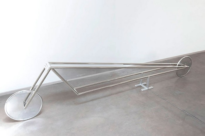 Piacentino is an Italian artist that deserved the recognition for all the artworks created since 1965. Fondazione Prada Gianni Piacentino art at Fondazione Prada Gianni Piacentino art at Fondazione Prada galleries I Lobo you13