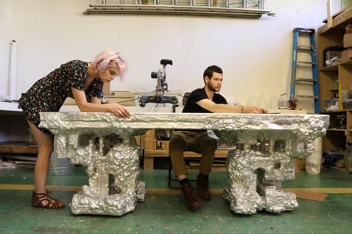 Art furniture Art furniture by Chris Schanck Art furniture by Chris Schanck     I Lobo you16