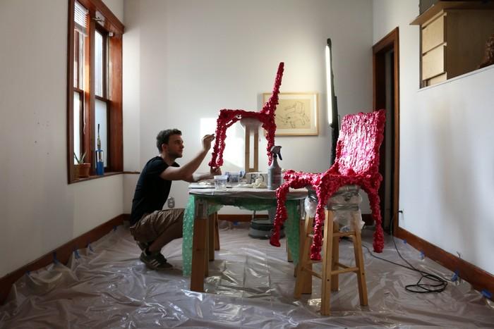 Art furniture Art furniture by Chris Schanck Art furniture by Chris Schanck     I Lobo you17
