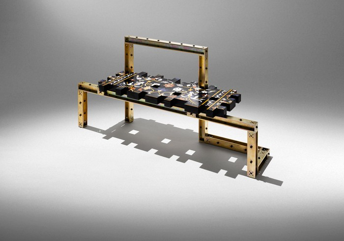 Nucleo was originally founded as a research-based collaborative of artists  Art furniture Art furniture by Nucleo Art furniture by Nucleo I Lobo you18