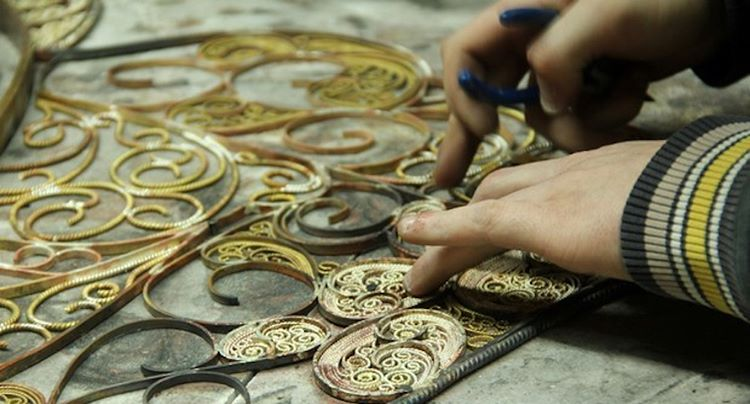 Can you discover to what mirror this filigree piece belongshellip