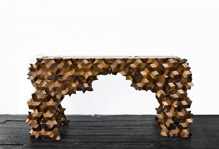 Geometric shaped furniture Geometric shaped furniture by Aranda/Lasch Geometric shaped furniture by ArandaLasch I Lobo you11