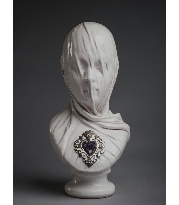 Artistic veiled busts by Livio Scarpella- artists I Lobo you Livio Scarpella Artistic veiled busts by Livio Scarpella Artistic veiled busts by Livio Scarpella artists I Lobo you