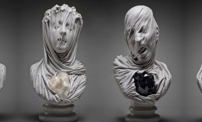 Livio Scarpella is a contemporary Italian sculptor whose work harkens back to the incredible craftsmanship of marble sculptors from the 1700s.