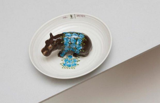 Hella Jongerius animal-filled porcelain bowls