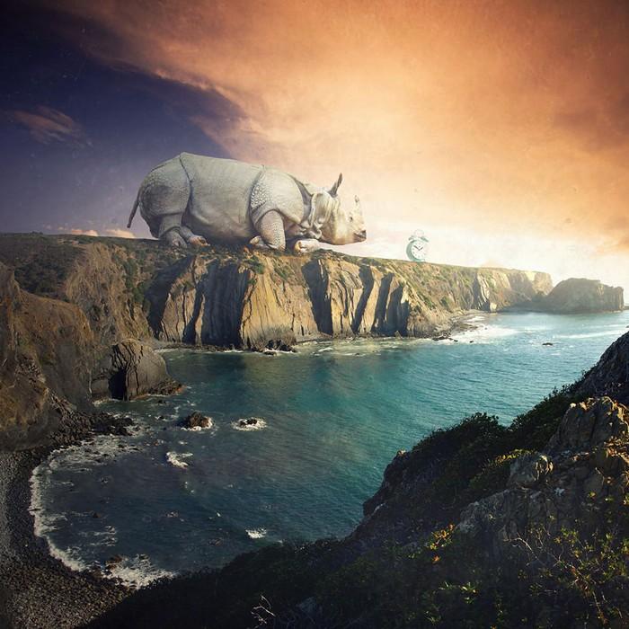 Surreal photo manipulations by Tomasz Zaczeniuk- artists I Lobo you5
