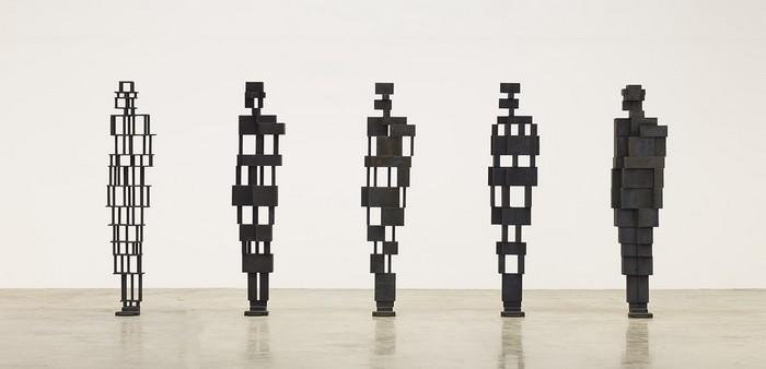 contemporary art Contemporary art: Antony Gormley metal sculptures Contemporary art Antony Gormley metal sculptures fine art I Lobo you10