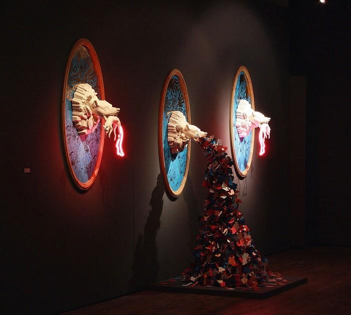 Contemporary art Contemporary art by Future Retrieval Contemporary art by Future Retrieval artists I Lobo you13