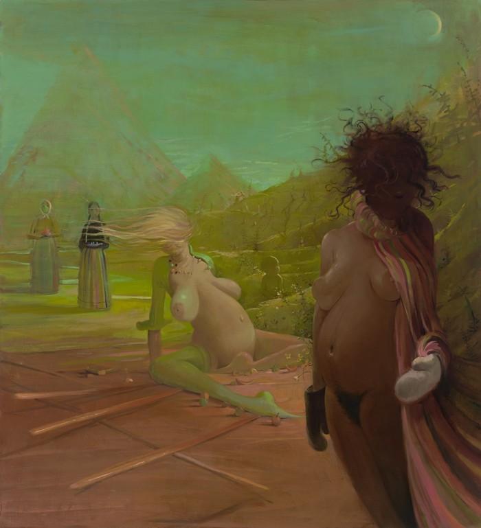 artistic paintings Artistic paintings by Lisa Yuskavage Artistic paintings by Lisa Yuskavage artists I lobo you15