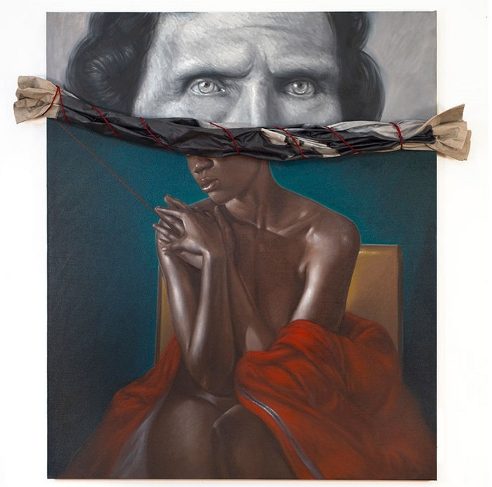 artistic-wall-decoration-by-titus-kaphar-artists-i-lobo-you10 artistic wall decoration Artistic wall decoration by Titus Kaphar Artistic wall decoration by Titus Kaphar artists I Lobo you10