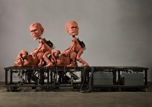 Bizarre sculptures by Paul McCarthy