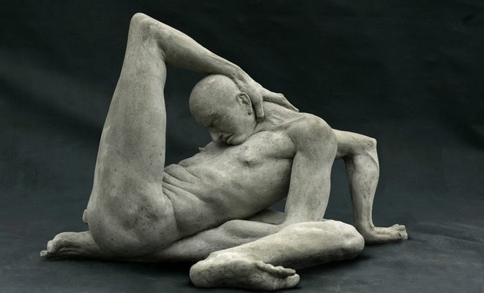 Artist Emil Alzamora contemporary art explores the human body through his figurative sculptures that distort, inflate, elongate, and deconstruct physical forms