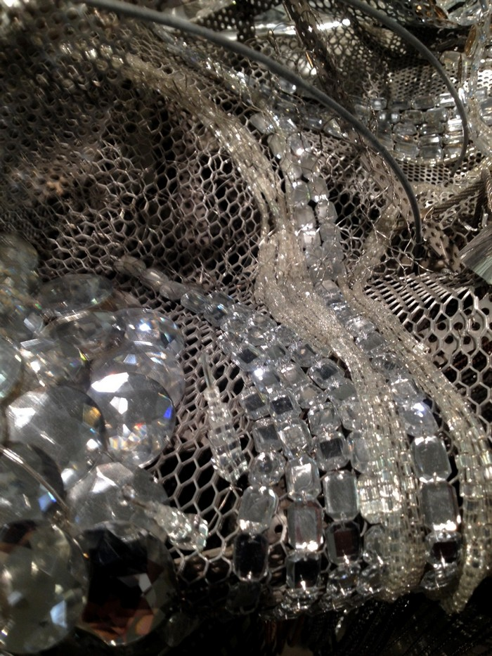 Lee Bul artistic chandelier- artists I Lobo you2