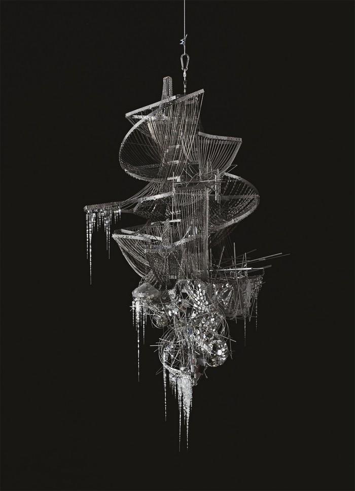 Lee Bul artistic chandelier- artists I Lobo you7