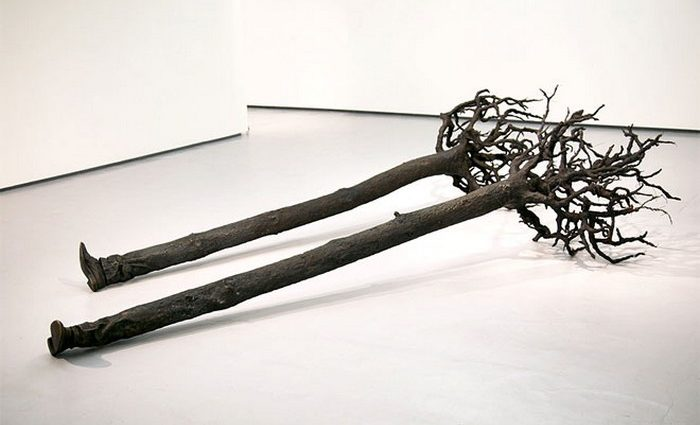 Yoan Capote uses sculpture, painting, installation, photography, and video to create contemporary art analogies