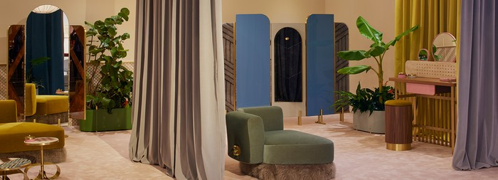 For Design Miami 2016, Milan-based architect Cristina Celestino partners with Fendi to showcase a collection of exceptional furniture. Design Miami 2016 Fendi at Design Miami 2016 Fendi at Design Miami 2016 furniture I Lobo you7