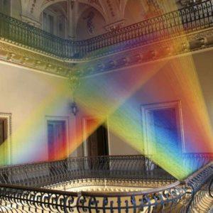 Gabriel Dawe colorful art installation