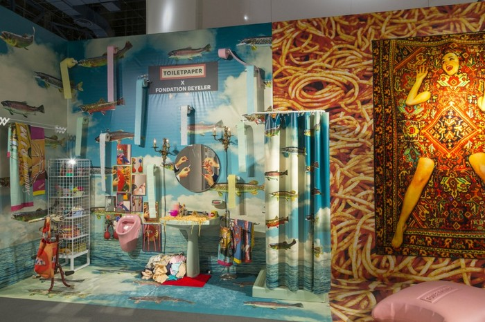 Maurizio Cattelan and Pierpaolo Ferrari, in collaboration with the Italian brand Seletti and Gufram, have transformed the booth at Design Miami 2016. maurizio cattelan Maurizio Cattelan and Pierpaolo Ferrari exhibition Maurizio Cattelan and Pierpaolo Ferrari exhibition artists I Lobo you