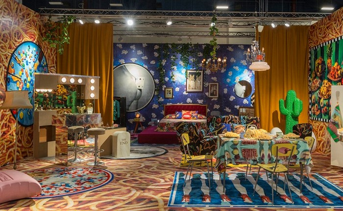 Maurizio Cattelan and Pierpaolo Ferrari, in collaboration with the Italian brand Seletti and Gufram, have transformed the booth at Design Miami 2016. maurizio cattelan Maurizio Cattelan and Pierpaolo Ferrari exhibition Maurizio Cattelan and Pierpaolo Ferrari exhibition artists I Lobo you12