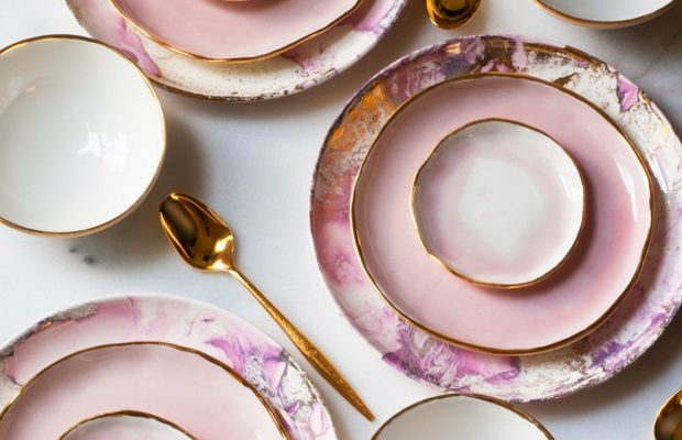 Contemporary tableware by Suite one Studio