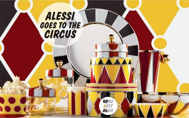 Meet Alessi Circus collection at Maison et Objet 2017