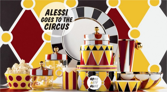 Alessi will be exhibiting at Maison et Objet 2017 in Paris it new collection Circus in collaboration with Marcel Wanders.