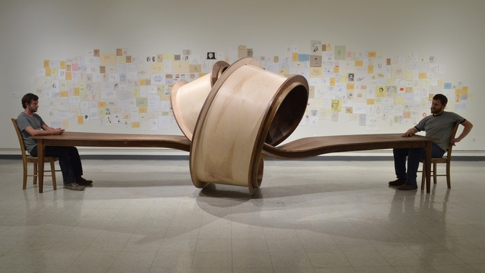 """Michael Beitz sculptural furniture is embellishing the world with """"funny"""" and playful ways to use furniture."""