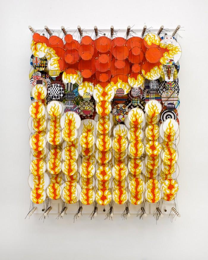 art installation Art installation by Jacob Hashimoto Art installation by Jacob Hashimoto arts and crafts I lobo you