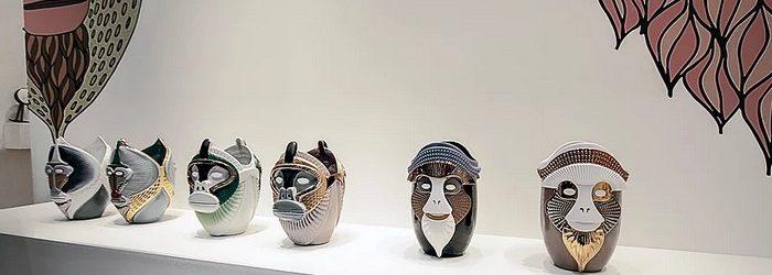 Elena Salmistraro primates at Maison et Objet 2017