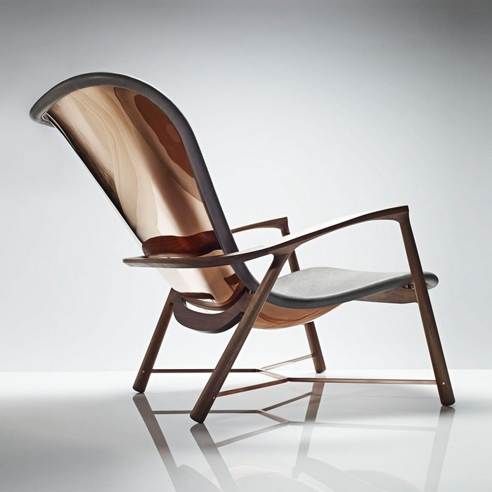 The Silhouette chair is part of INLEY's Extraordinary Furniture Collection 2014 - launched at Masterpiece London, making part of the art furniture collection. Art furniture Art furniture: Silhouette chair by Linley Art furniture Silhouette chair by Linley I Lobo you2