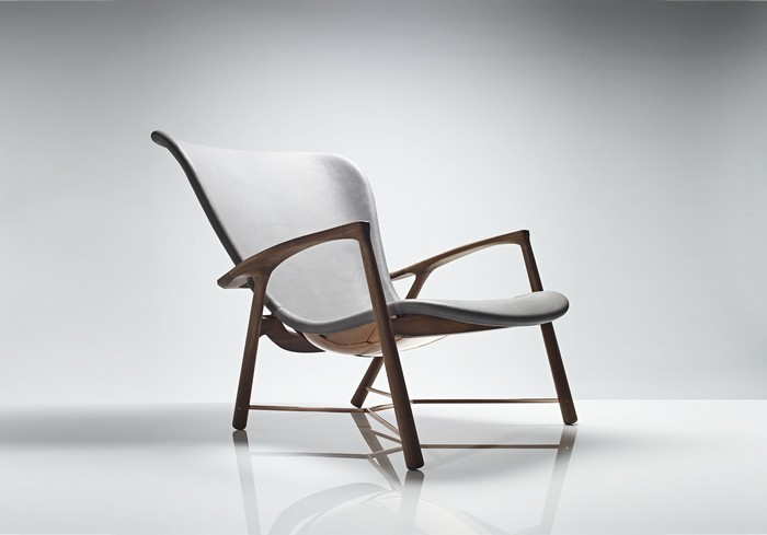 Art furniture Art furniture: Silhouette chair by Linley Art furniture Silhouette chair by Linley I Lobo you7