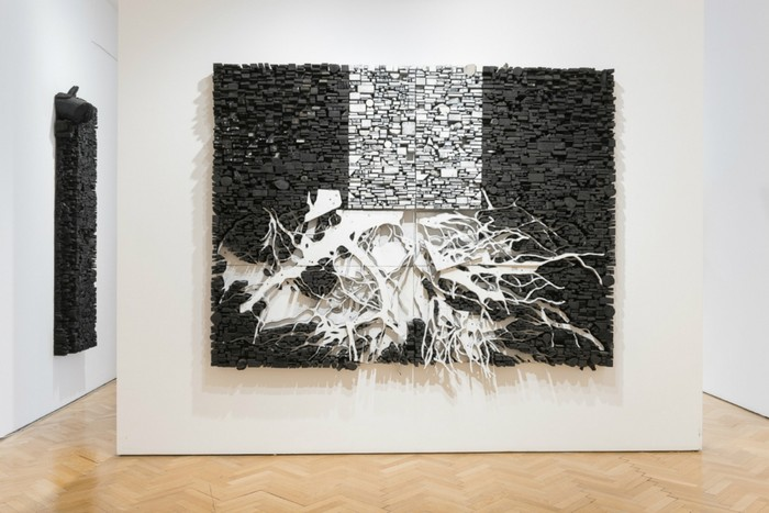 Leonardo Drew is known for his dynamic large-scale sculptural installations, mostly wall artworks. Wall artworks Leonardo Drew Wall artworks Leonardo Drew Wall artworks     artists I Lobo you10 1