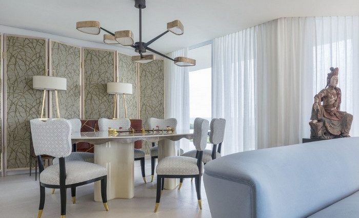 Achille Salvagni, besides having an interior design studio also has an own collection of furniture and is recognized as one of the Top interior designers