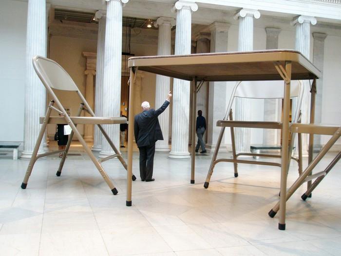 giant furniture Giant furniture by Robert Therrien Giant furniture by Robert Therrien artists I Lobo you3