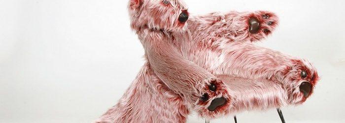Ania Kanicka's Polar Bear armchair