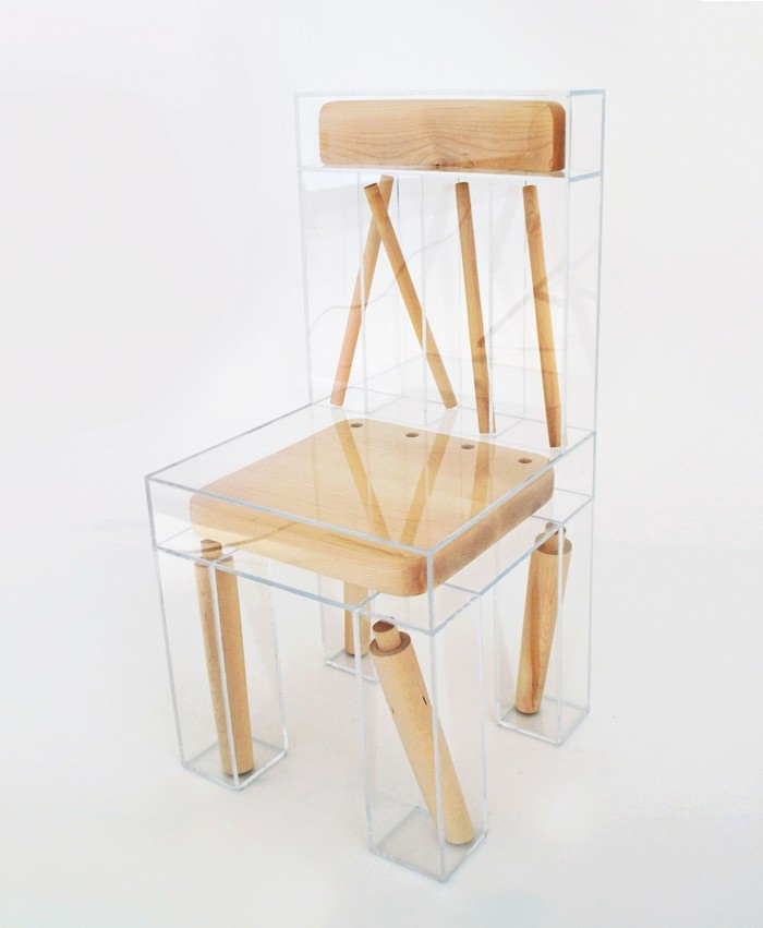 Joyce Lin is a designer in her final year obtaining a dual degree at RISD and Brown. We can say that her first art furniture piece is this deconstructed chair. Art furniture Art furniture by Joyce Lin Art furniture by Joyce Lin i lobo you