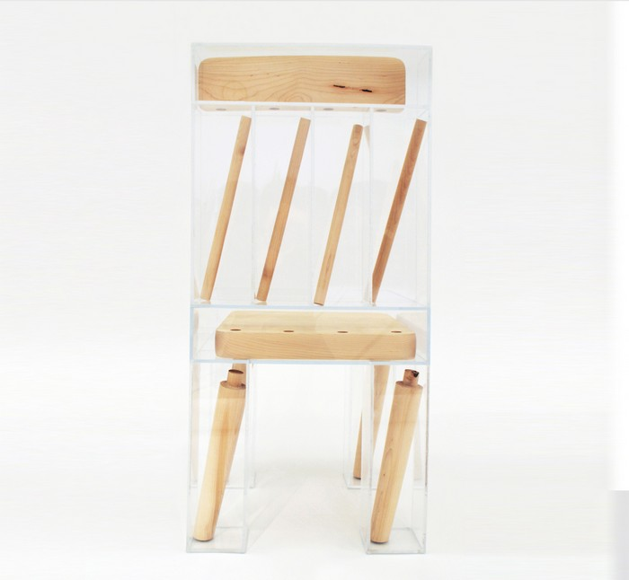 Joyce Lin is a designer in her final year obtaining a dual degree at RISD and Brown. We can say that her first art furniture piece is this deconstructed chair. Art furniture Art furniture by Joyce Lin Art furniture by Joyce Lin i lobo you3